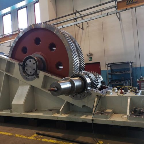 Pinion stand mill drive (Main drive) for hot rolling mill