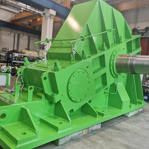 Engineering and construction of Pinion stand mill drive (Main drive) for hot rolling mill