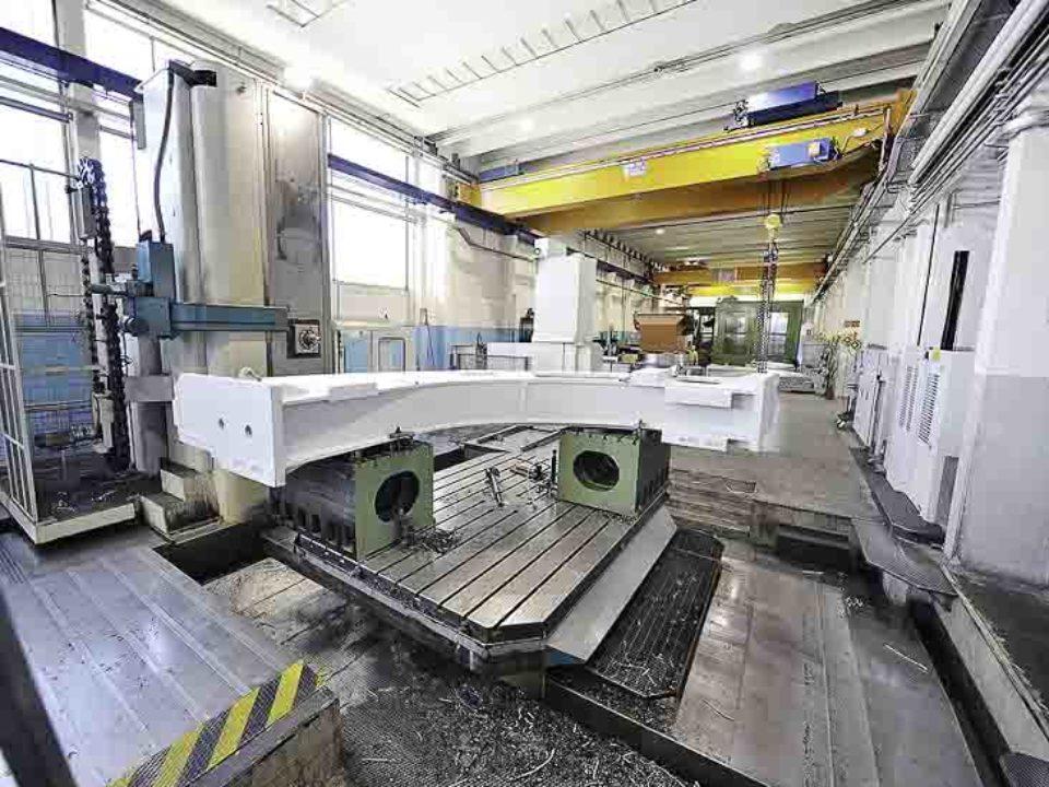 Lavorazioni meccaniche settori erettore conci per TBM (Tunnel Bo