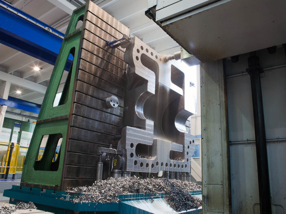 Galbiati Group ha recentemente eseguito la costruzione e la lavo