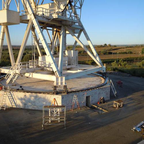 Radiotelescopio da 32 metri VLBI.