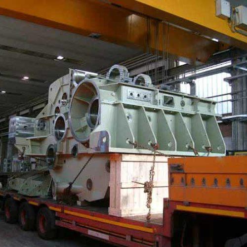 Lavorazioni meccaniche conto terzi di medie e grandi dimensioni.