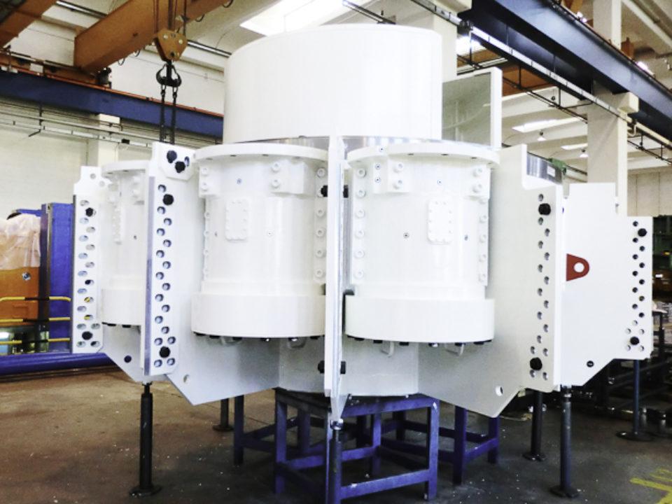 Cutterhead Supports per testa di perforazione gallerie (TBM)