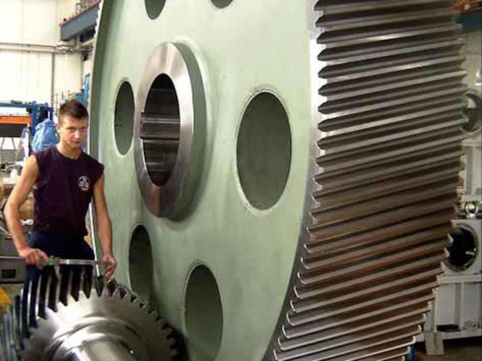 Ingranaggi per riduttore comando gabbia verticale