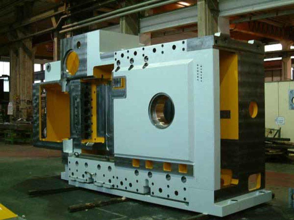 Lavorazione meccanica corpo stampatrice a freddo