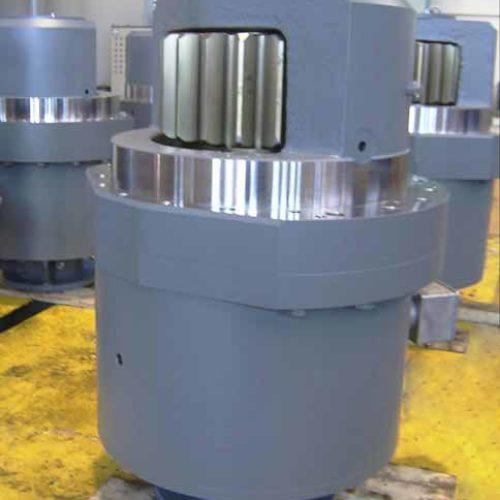 Riduttori epicicloidali realizzati da Galbiati Group.