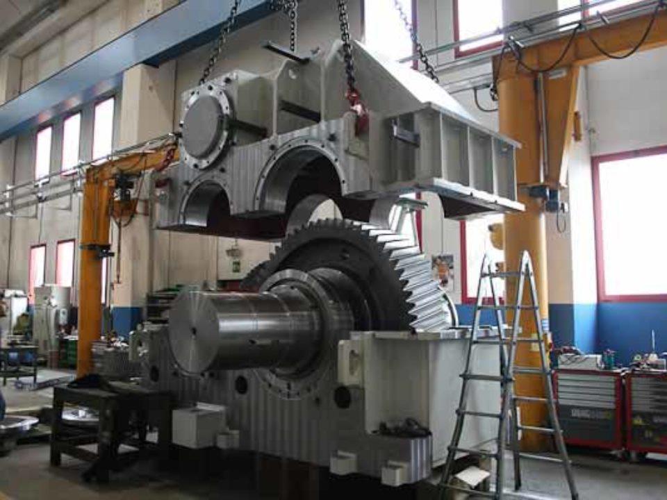 Riduttore per comando molini e forni per settore cemento