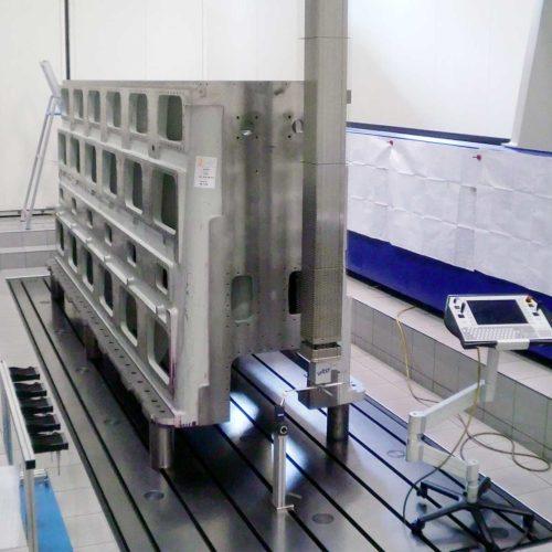 Basamento e testata per compressore sferoidale