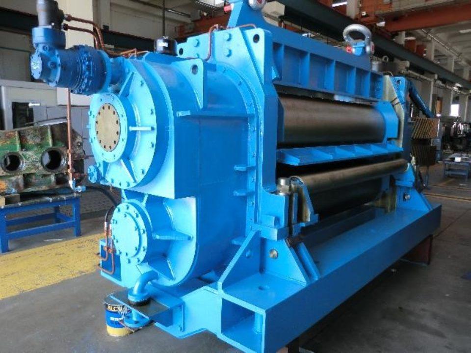 Cesoie taglio alluminio per impianto di laminazione a caldo-01