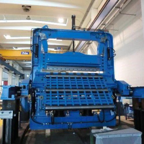 Cesoie taglio alluminio per impianto di laminazione a caldo