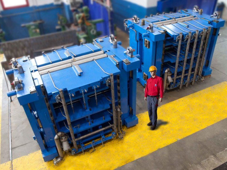 Segmenti per impianto di laminazione a colata continua01