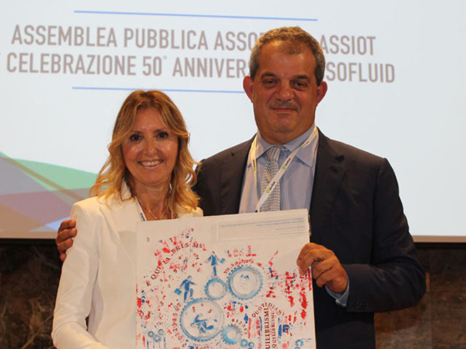 Nuovo presidente Assiot: Assunta Galbiati