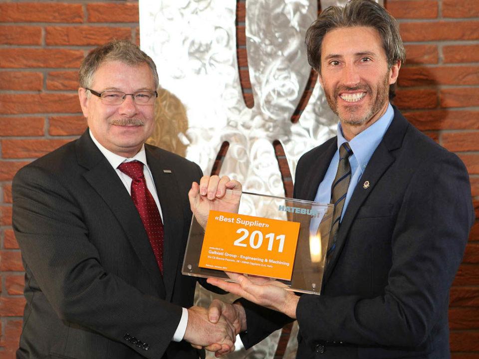 Galbiati Group Premio Hatebur 2011
