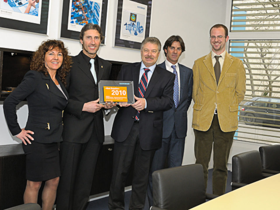 Galbiati Group Lieferant des Jahres 2010