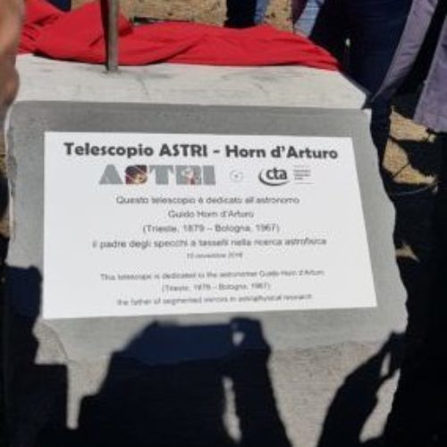 Inaugurazione radiotelescopio ASTRI