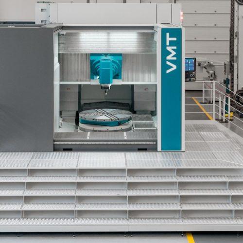 Installazione nuovo centro di alesatura PAMA VMT2
