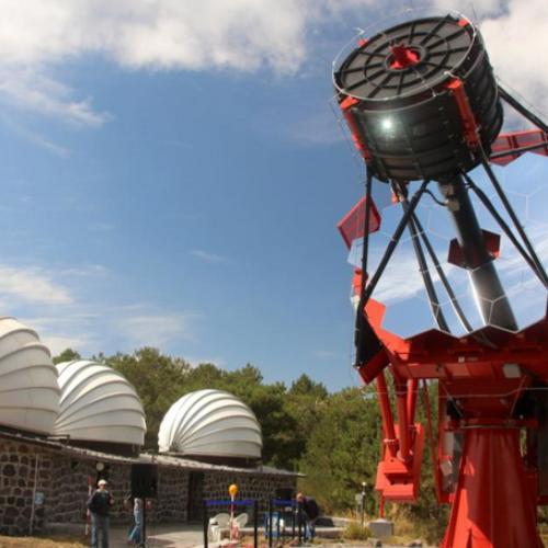 Costruzione radiotelescopio ASTRI