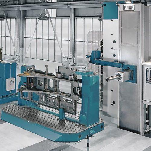 Installazione nuovo centro di alesatura PAMA SPEEDRAM 1000 HP
