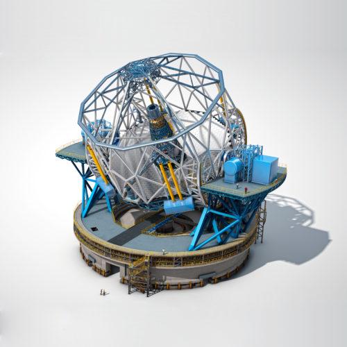 Costruzione del radiotelescopio ELT