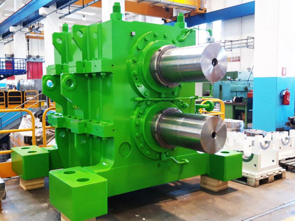 Progettazione e costruzione di un riduttore sdoppiatore (Pinion stand drive)