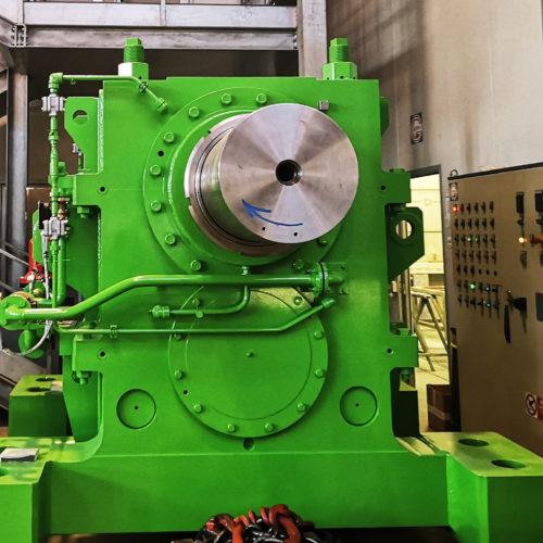 riduttore sdoppiatore (Pinion stand drive) per impianto di laminazione a caldo